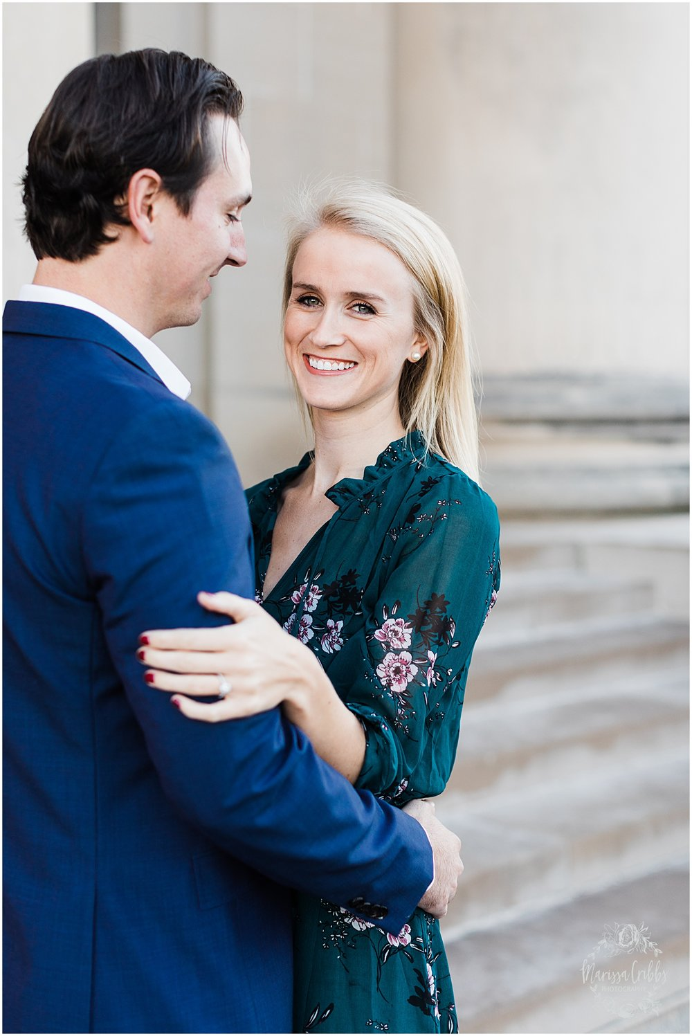 HALEY & CHASE ENGAGED LOOSE PARK & NELSON ATKINS | FALL ENGAGEMENT PHOTOS | MARISSA CRIBBS PHOTOGRAPHY_6854.jpg
