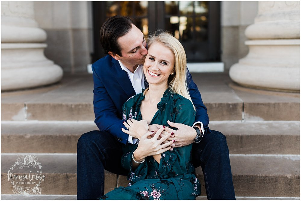 HALEY & CHASE ENGAGED LOOSE PARK & NELSON ATKINS | FALL ENGAGEMENT PHOTOS | MARISSA CRIBBS PHOTOGRAPHY_6857.jpg