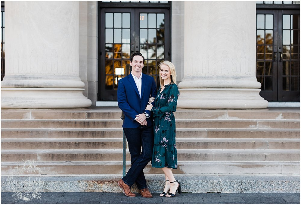 HALEY & CHASE ENGAGED LOOSE PARK & NELSON ATKINS | FALL ENGAGEMENT PHOTOS | MARISSA CRIBBS PHOTOGRAPHY_6860.jpg