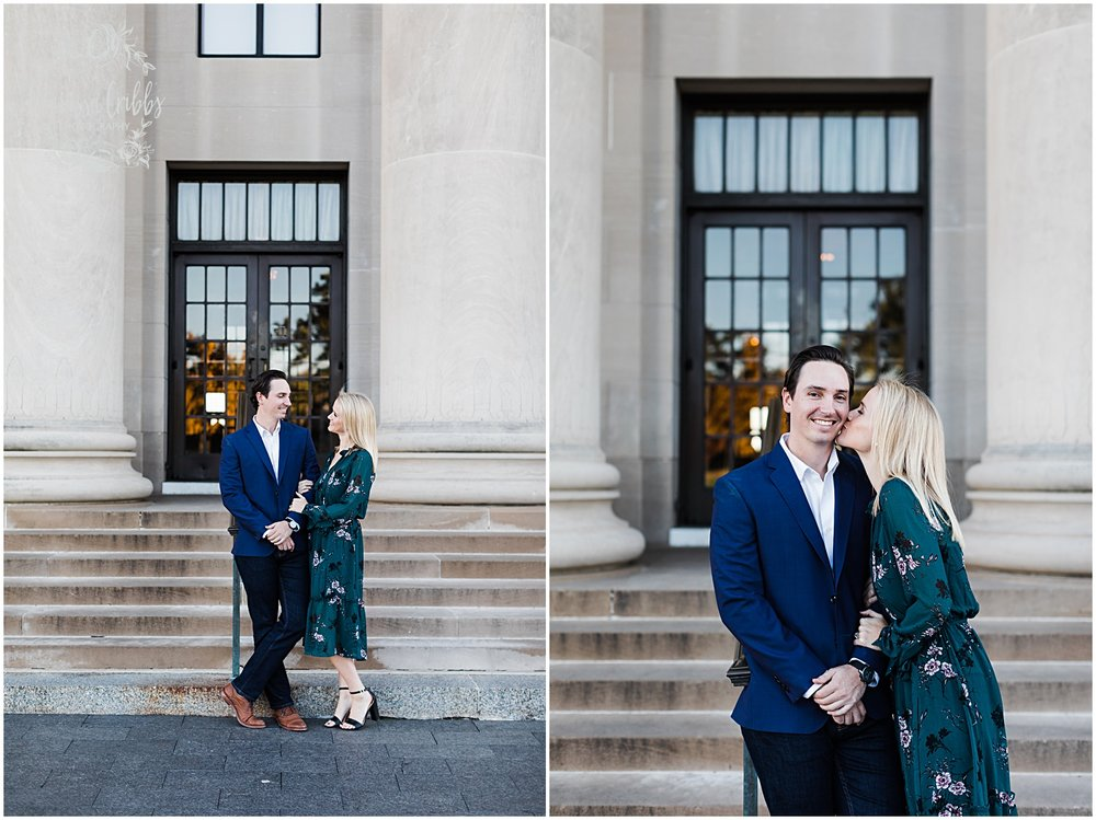 HALEY & CHASE ENGAGED LOOSE PARK & NELSON ATKINS | FALL ENGAGEMENT PHOTOS | MARISSA CRIBBS PHOTOGRAPHY_6861.jpg