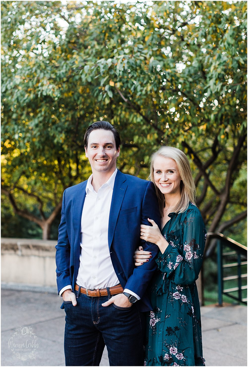 HALEY & CHASE ENGAGED LOOSE PARK & NELSON ATKINS | FALL ENGAGEMENT PHOTOS | MARISSA CRIBBS PHOTOGRAPHY_6863.jpg