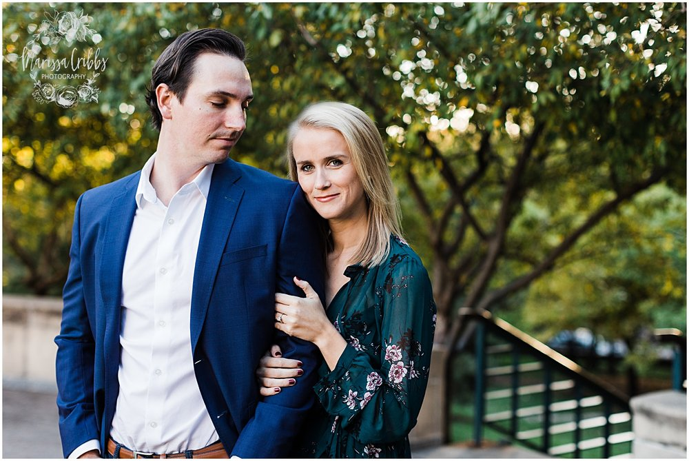 HALEY & CHASE ENGAGED LOOSE PARK & NELSON ATKINS | FALL ENGAGEMENT PHOTOS | MARISSA CRIBBS PHOTOGRAPHY_6865.jpg