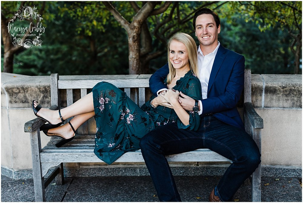 HALEY & CHASE ENGAGED LOOSE PARK & NELSON ATKINS | FALL ENGAGEMENT PHOTOS | MARISSA CRIBBS PHOTOGRAPHY_6868.jpg