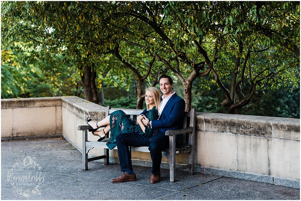HALEY & CHASE ENGAGED LOOSE PARK & NELSON ATKINS | FALL ENGAGEMENT PHOTOS | MARISSA CRIBBS PHOTOGRAPHY_6869.jpg