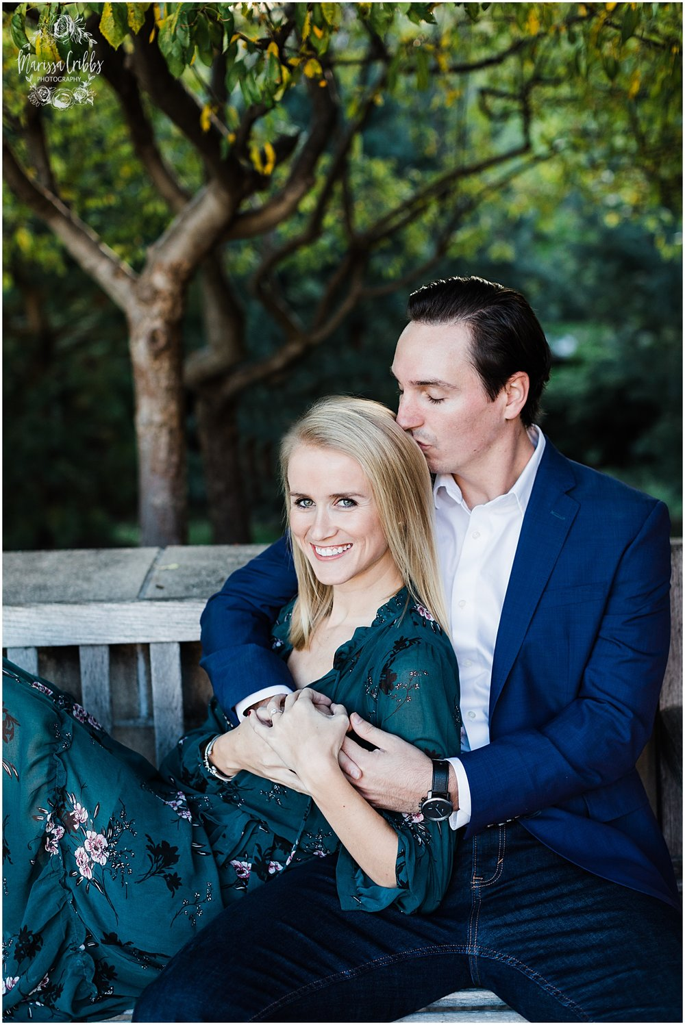 HALEY & CHASE ENGAGED LOOSE PARK & NELSON ATKINS | FALL ENGAGEMENT PHOTOS | MARISSA CRIBBS PHOTOGRAPHY_6870.jpg