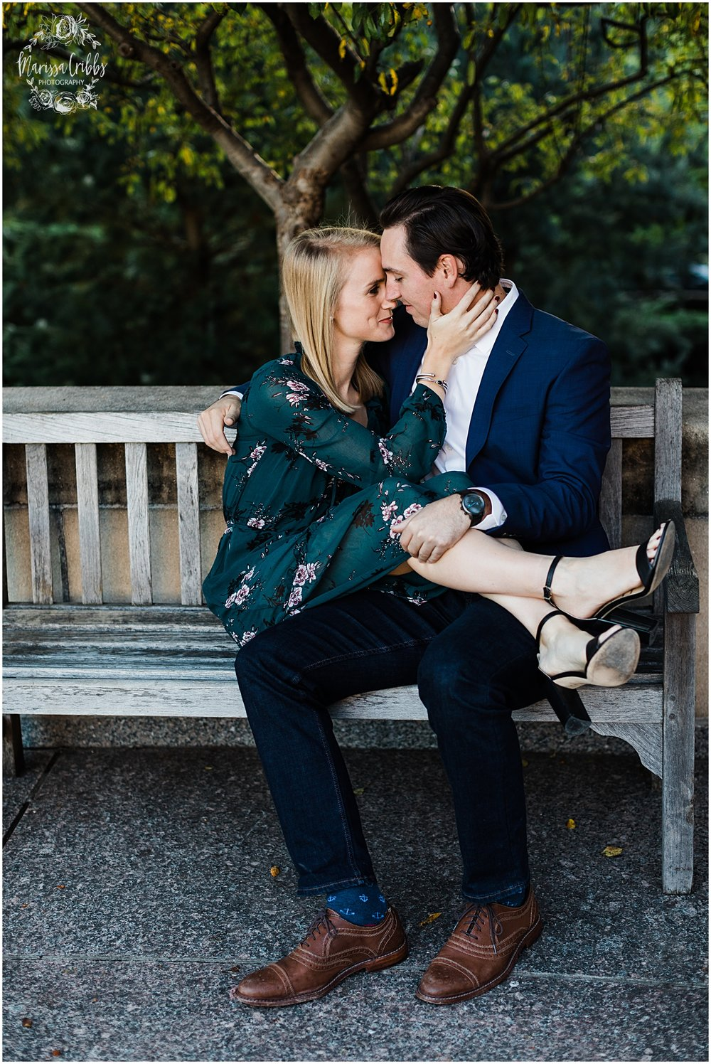 HALEY & CHASE ENGAGED LOOSE PARK & NELSON ATKINS | FALL ENGAGEMENT PHOTOS | MARISSA CRIBBS PHOTOGRAPHY_6872.jpg