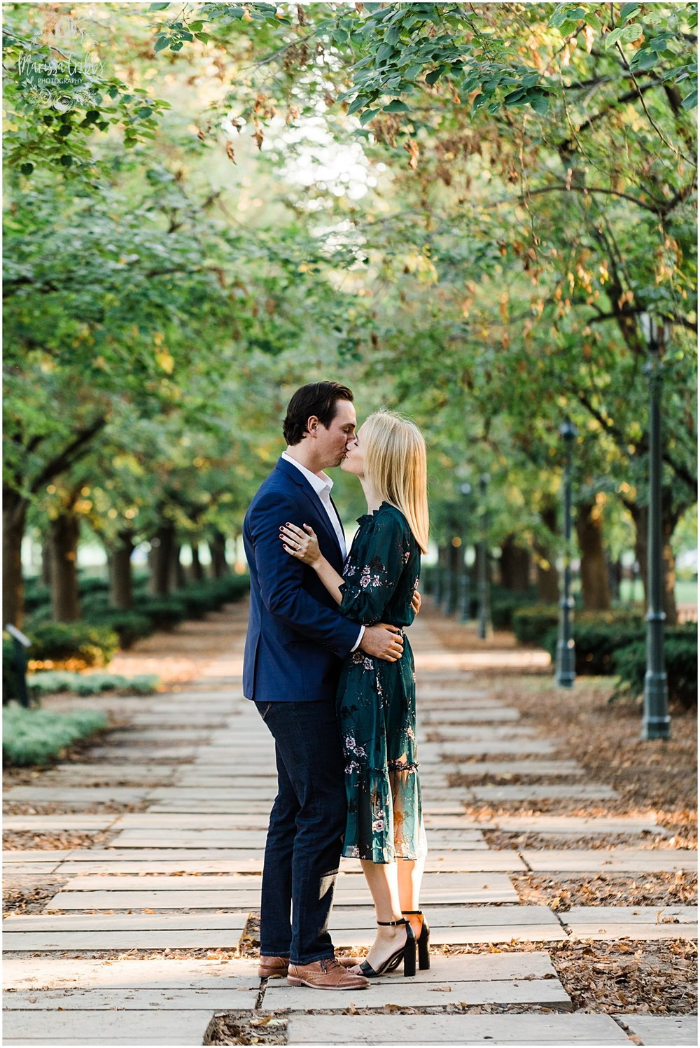 HALEY & CHASE ENGAGED LOOSE PARK & NELSON ATKINS | FALL ENGAGEMENT PHOTOS | MARISSA CRIBBS PHOTOGRAPHY_6875.jpg