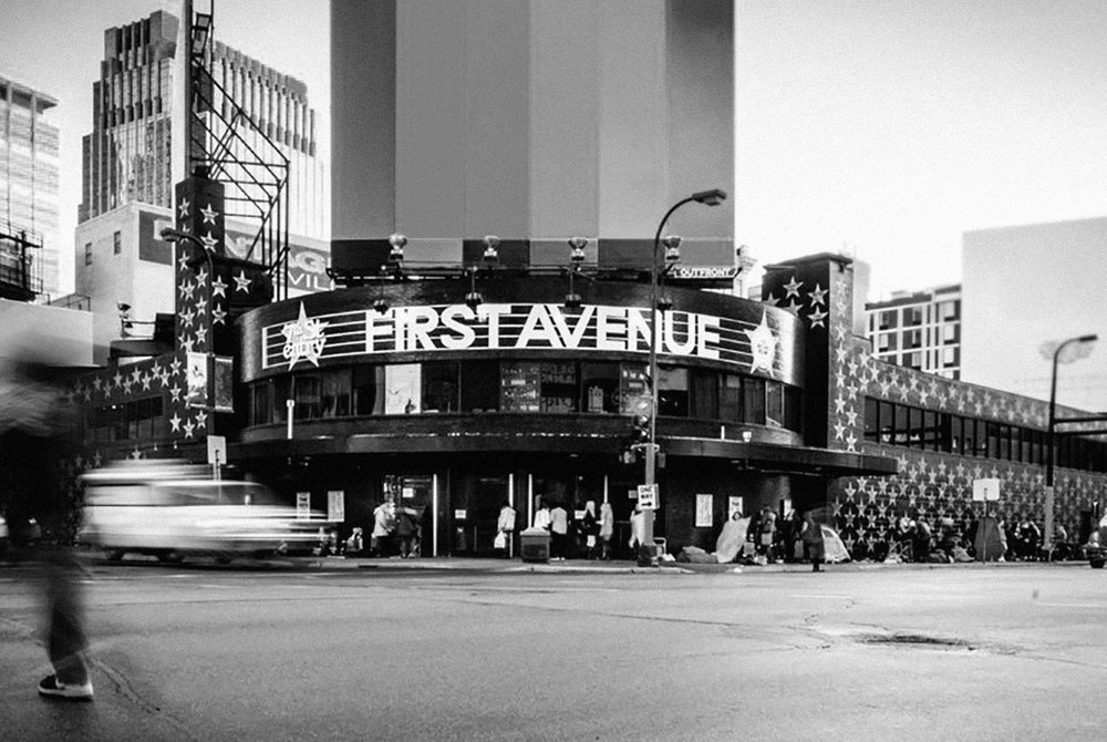 First Avenue - First Avenue is a legendary night club located in Minneapolis, MN. After making it's name as the home stage of artists such as Prince or The Replacements, First Avenue has sustained as one of the premier independently owned and operated music venues in the country. I was hired by First Avenue to give their brand an updated look throughtout the venue and marketing collateral, and create all visual elements to help promote the nearly 2,500 events hosted there each year.