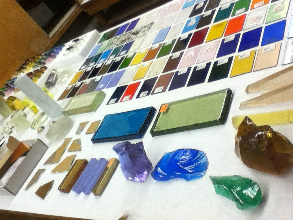 Week one of the Emerging Artist in Residence at Pilchuck Glass School in Washington State:We brought everything!