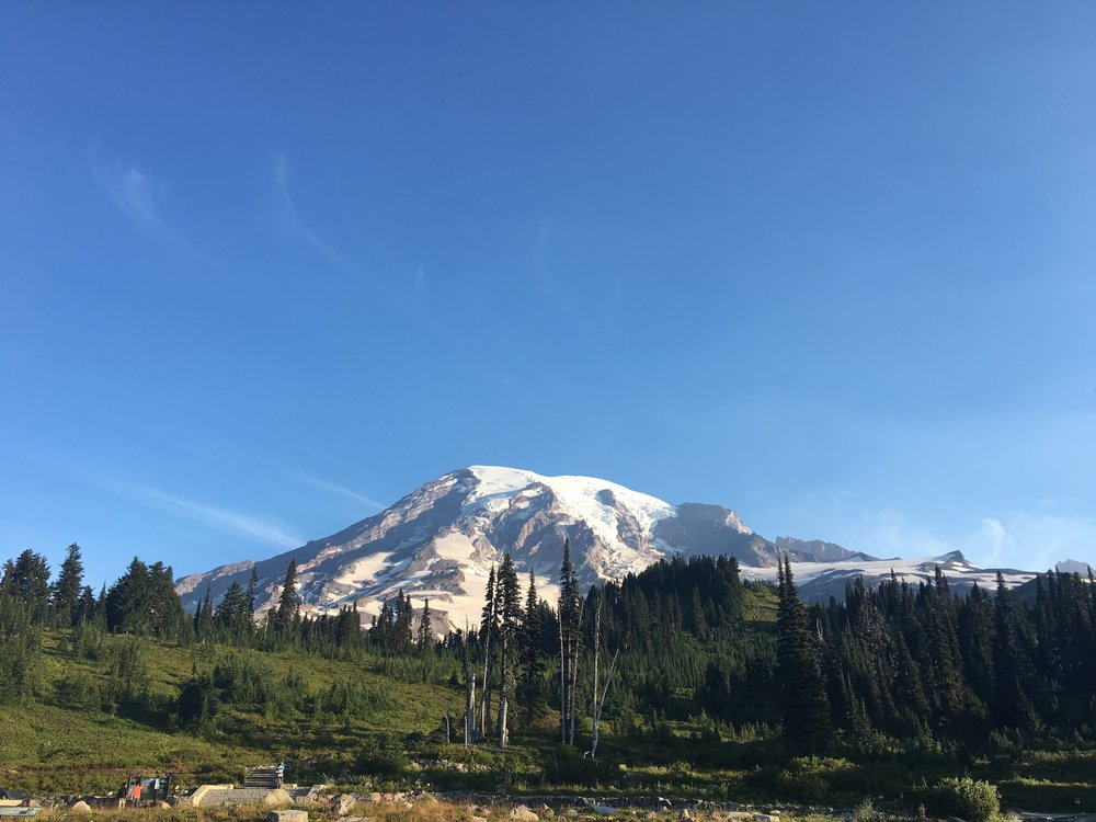 My favorite Mt. Rainier photo of the summer. It doesn't get better than this.