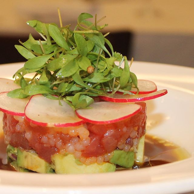 Happy Monday! Have you tried our tuna tartare appetiser?