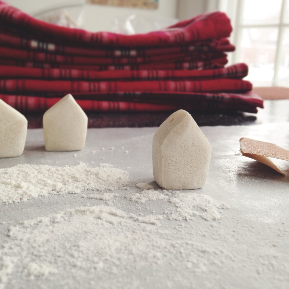 tiny town   |  salt dough, 2013.