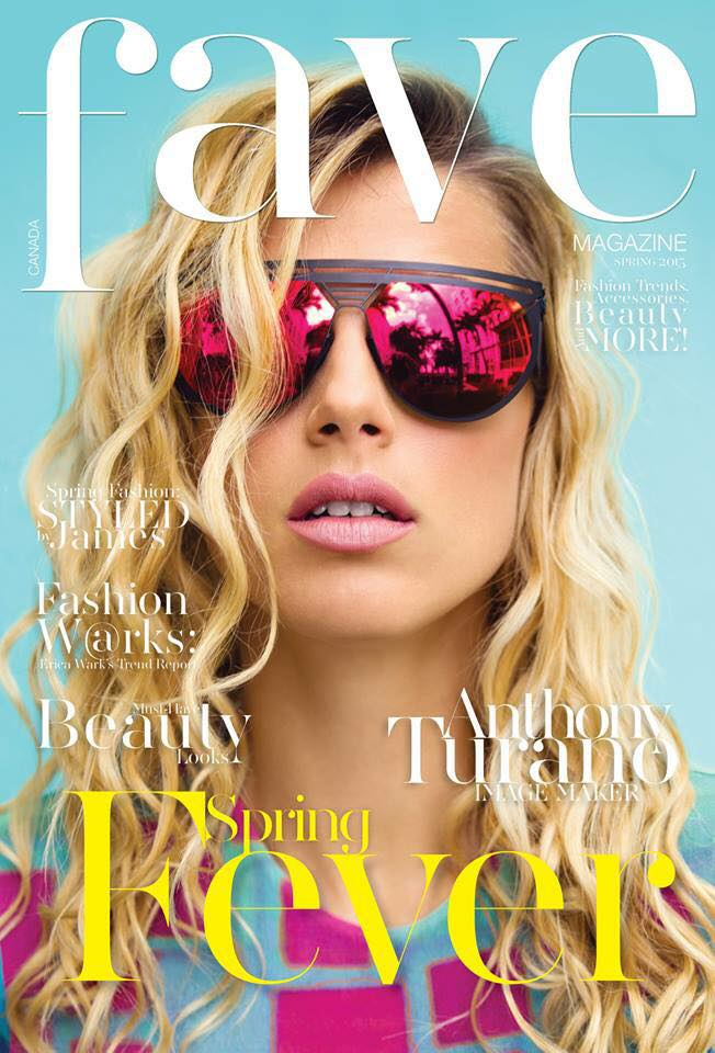 © Anthony Turano & Fave Magazine Hair and Makeup: Melanie Viger Styling: Jeile Marie Model: Camille (Next Miami) Sunglasses: Artsee Miami