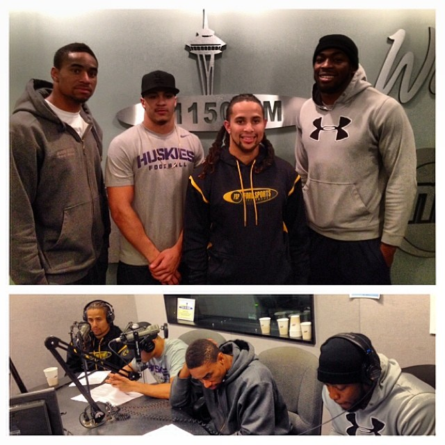 Ep.#2 - (from left to right) Aaron Burks, Greg Ducre, Tracy Ford & Anthony Bennett