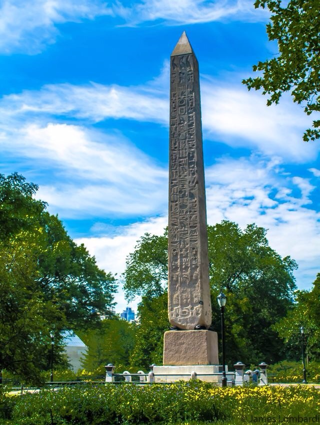 Not my image found on Pinterest* Cleopatra's obelisk monument still standing in Central Park, NYC.