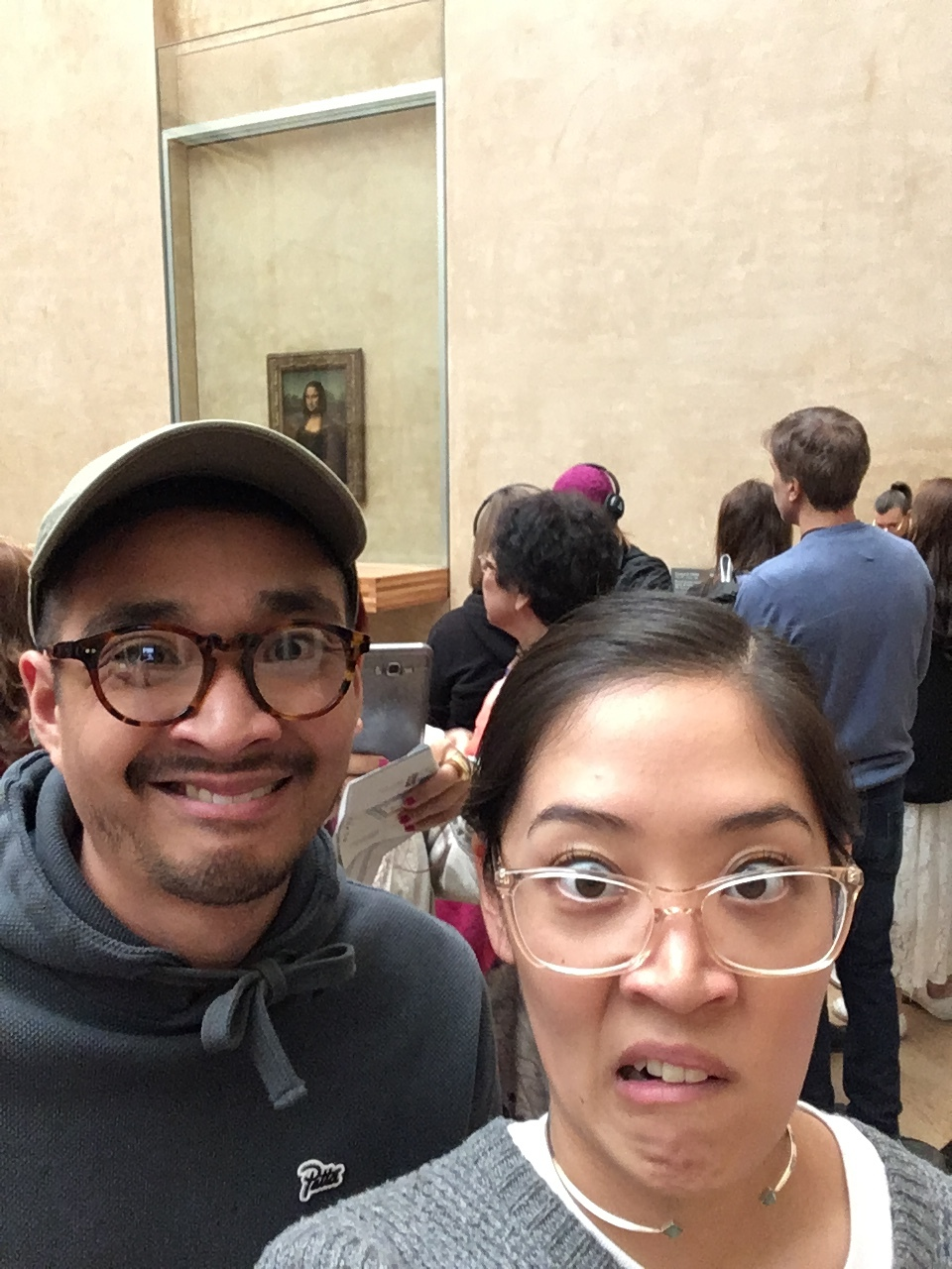Mona Lisa smile. Psych.