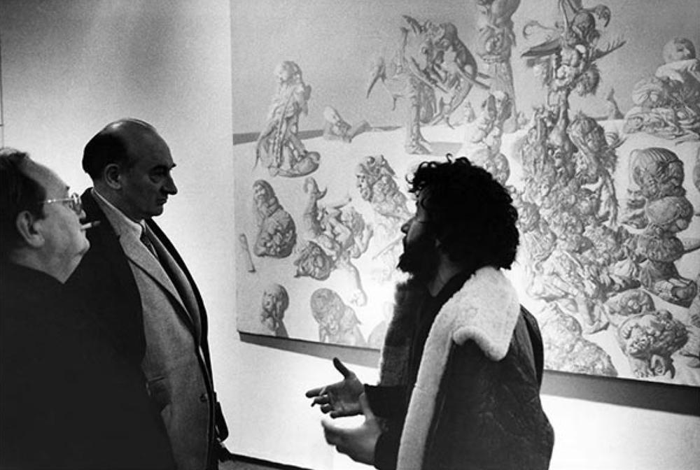 au CNAC, 1970.