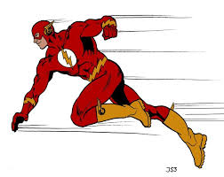 The Flash is about the only one who can be fast instantly.  And he's not even real!