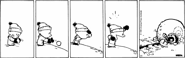 Don't let Calvin's snowball overwhelm you.