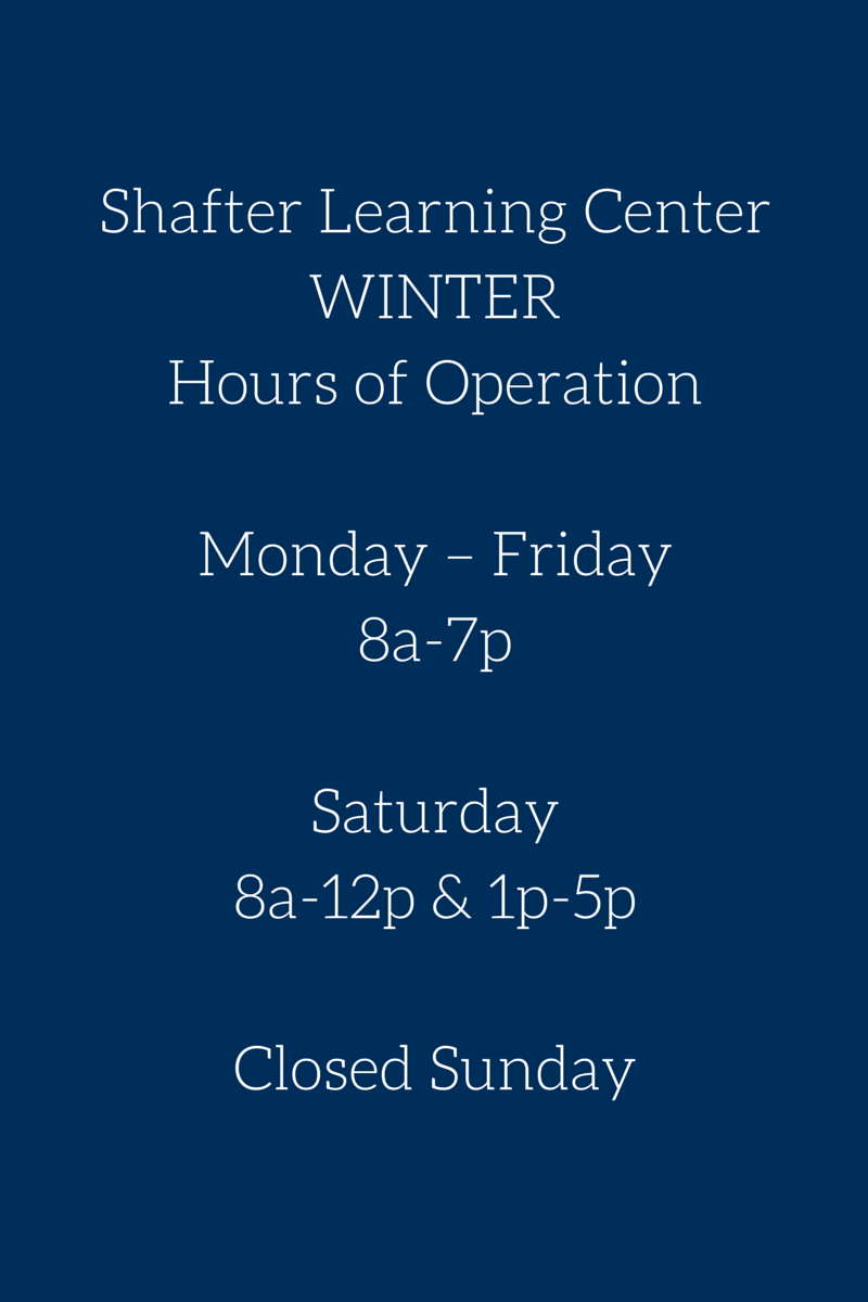 Shafter Learning CenterWINTERHours of.png