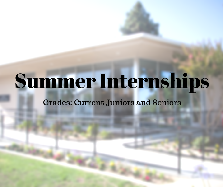 Click  here  for more information on Internship Opportunities