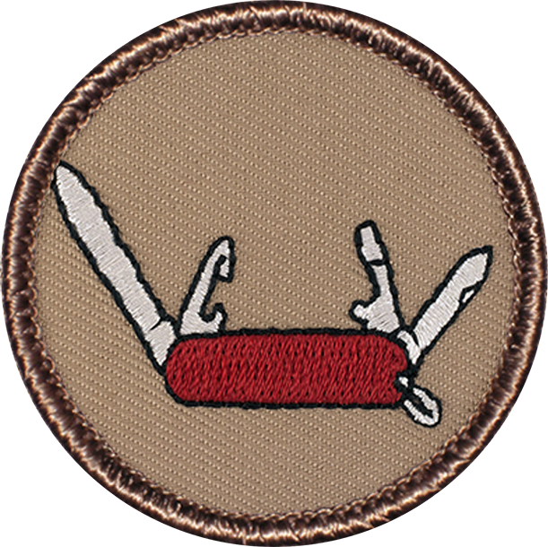 Ideal Scout Knife Badge winner