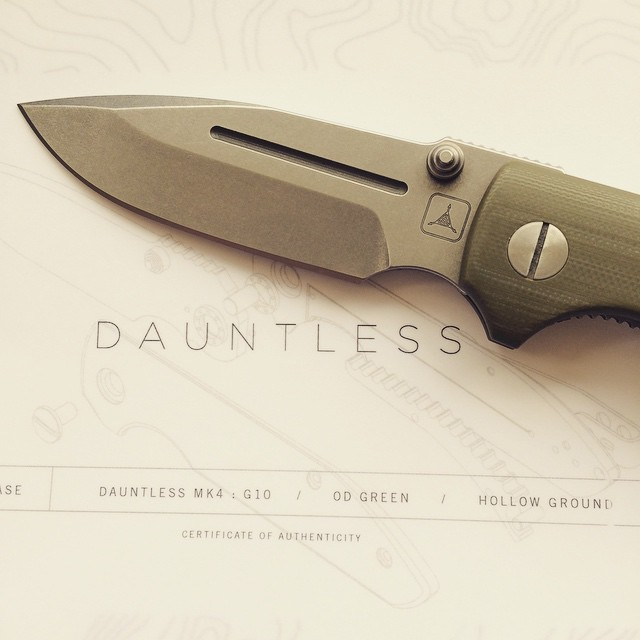 #dauntless #tad #folder #usn #usnfollow #usnstagram #knifenut #knifecollector #beautiful #mk4