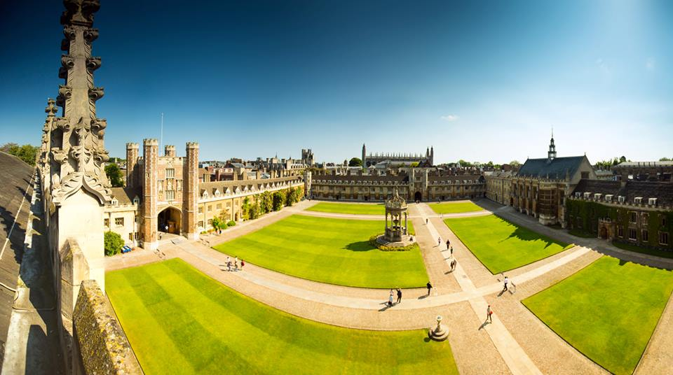 Trinity College, Cambridge, where I was an undergraduate