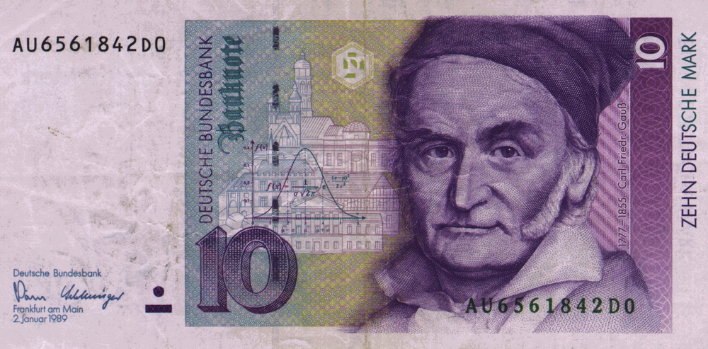 Carl Friedrich Gauss, German mathematician