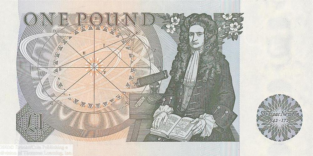 Sir Isaac Newton, Britain's greatest mathematician