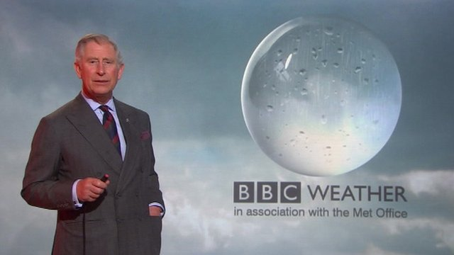 prince charles forecasts the weather