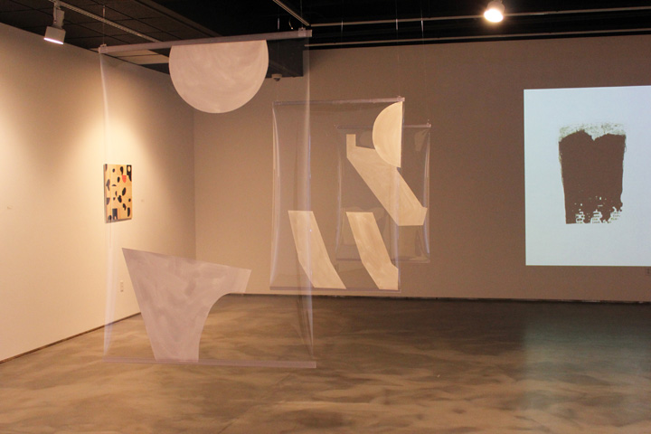 Installation view of dis/Order solo exhibition at V ernon Public Art Gallery . January-March 2014