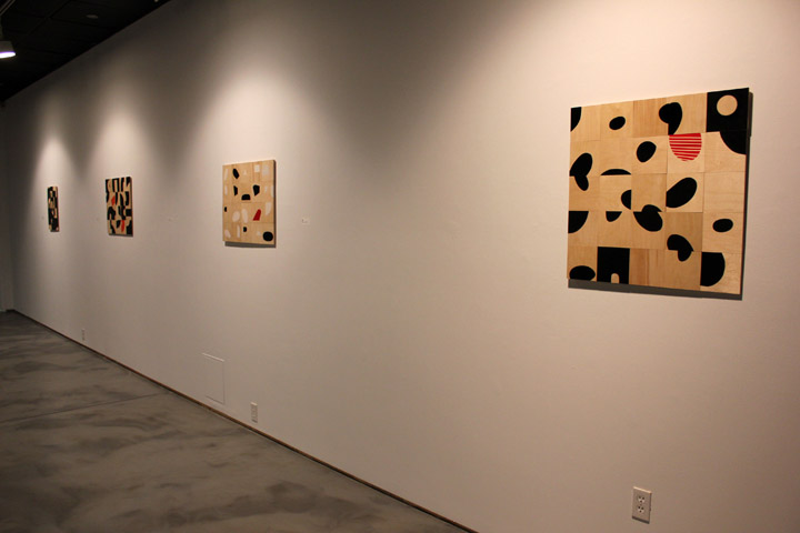 Installation view of dis/Order solo exhibition at  Vernon Public Art Gallery . January-March 2014