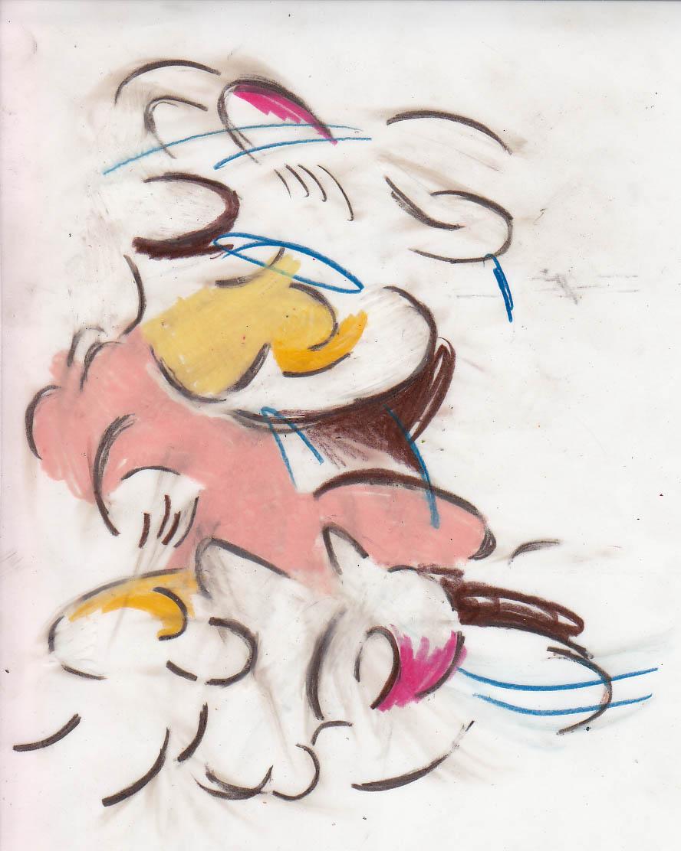 Abstract Comic drawings, 2011-2013