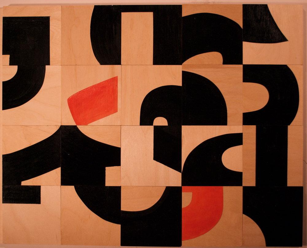 Disorder,solo exhibition at Vernon Public Art Gallery, 2014