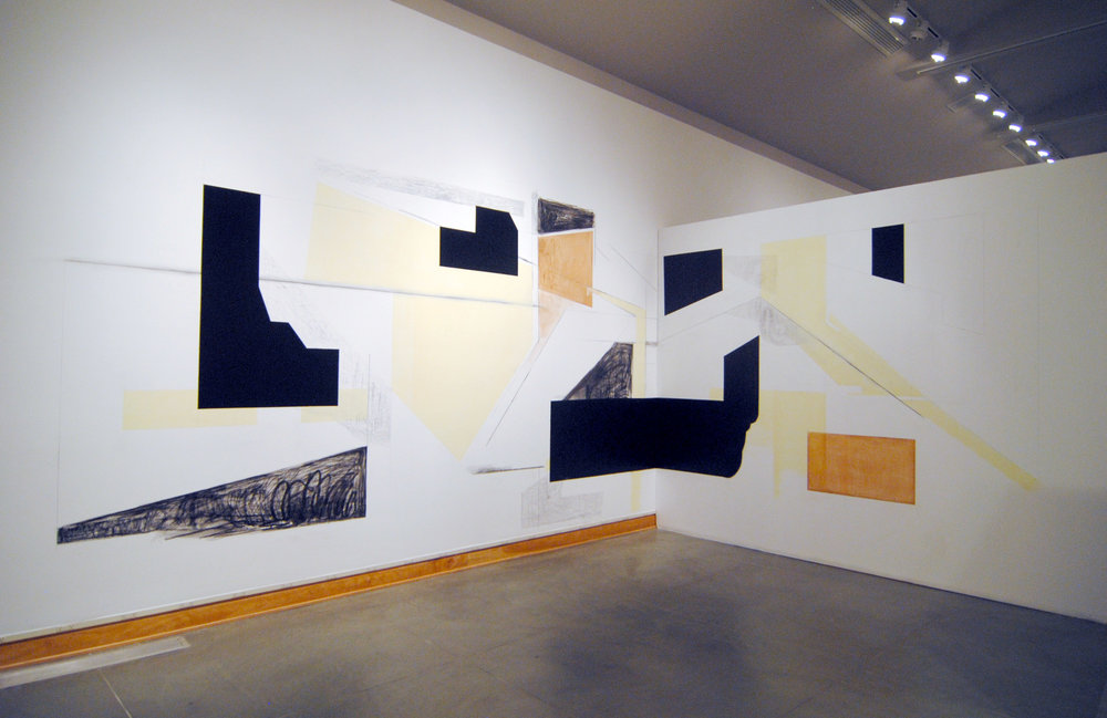 Drawing From Life, Kelowna Art Gallery group exhibition of large-scale drawings, 2016