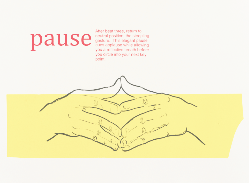Persausive Gesture, print series made during a BAIR residency at the Banff Centre, 2014