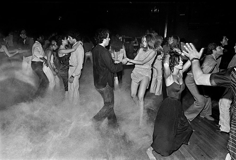 Photo by Bill Bernstein: Xenon Dancefloor, 1979
