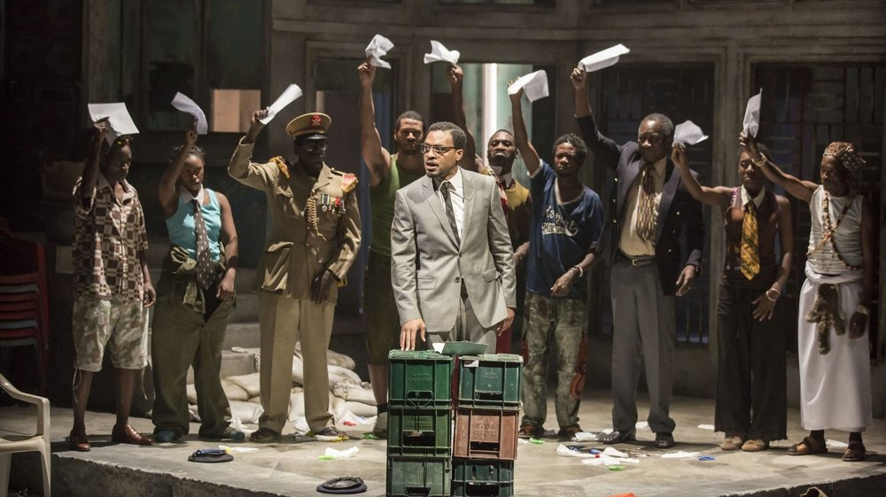 A Season in the Congo - directed by Joe Wright, Young Vic Main stageBoris Karloff Trainee Assistant Director