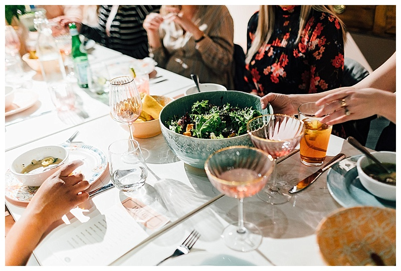 Photos by  Zoe Grant   Styling by  Mary Kaufman   Food and location,  Stockpot Norfolk   Table top decor,  Anthropologie
