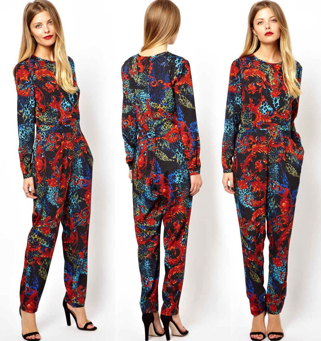 There's something about PRINTS! Loving this Asos Jumpsuit!