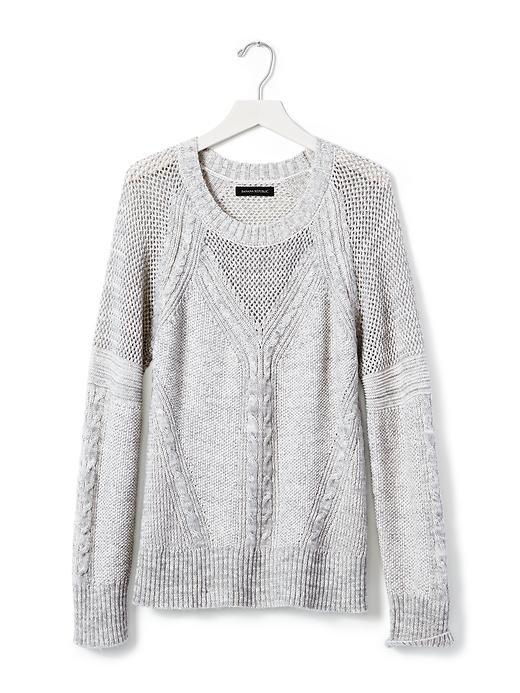 This Banana Republic sweater screams cozy.