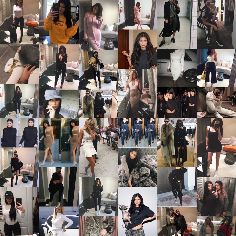 Photos courtesy of instagram.com/kyliejenner
