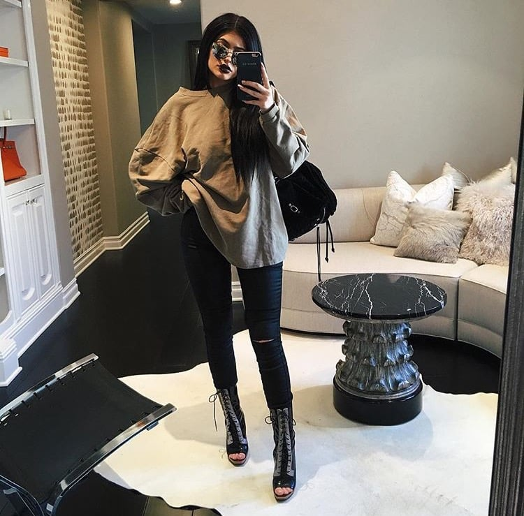 Photo courtesy of Instagram.com/kyliejenner
