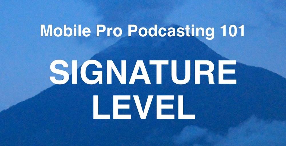 Signature Level