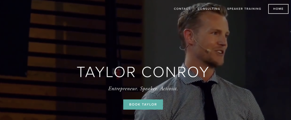 Personal Site - tayloraconroy.com