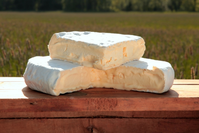"Jacobs Creamery's ""Bloomy,"" a triple cream-inspired cheese."
