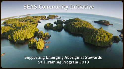 SEAS Supporting Emerging Aboriginal Stewards -  Sail Training Program 2013