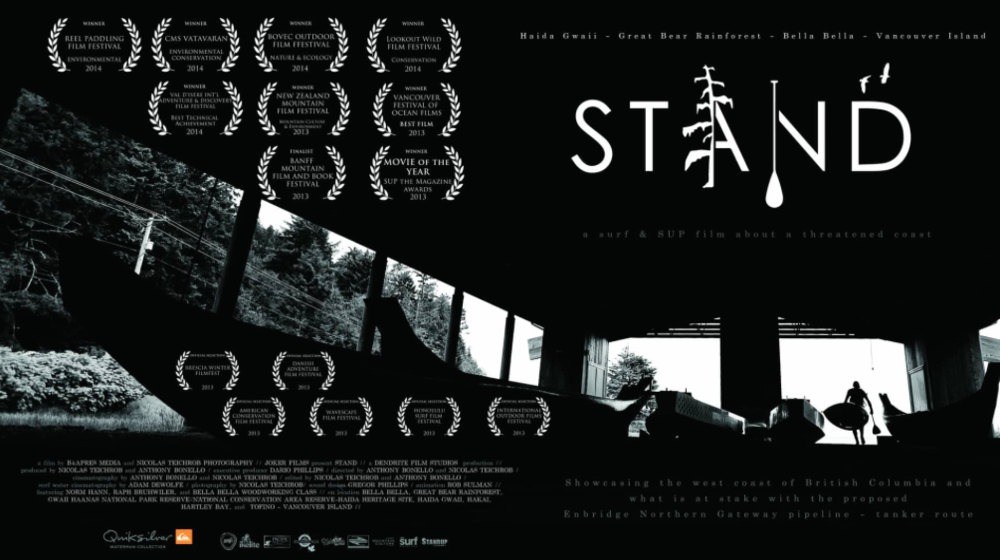 STAND Film -  A surf and SUP film about BC's threatened coast