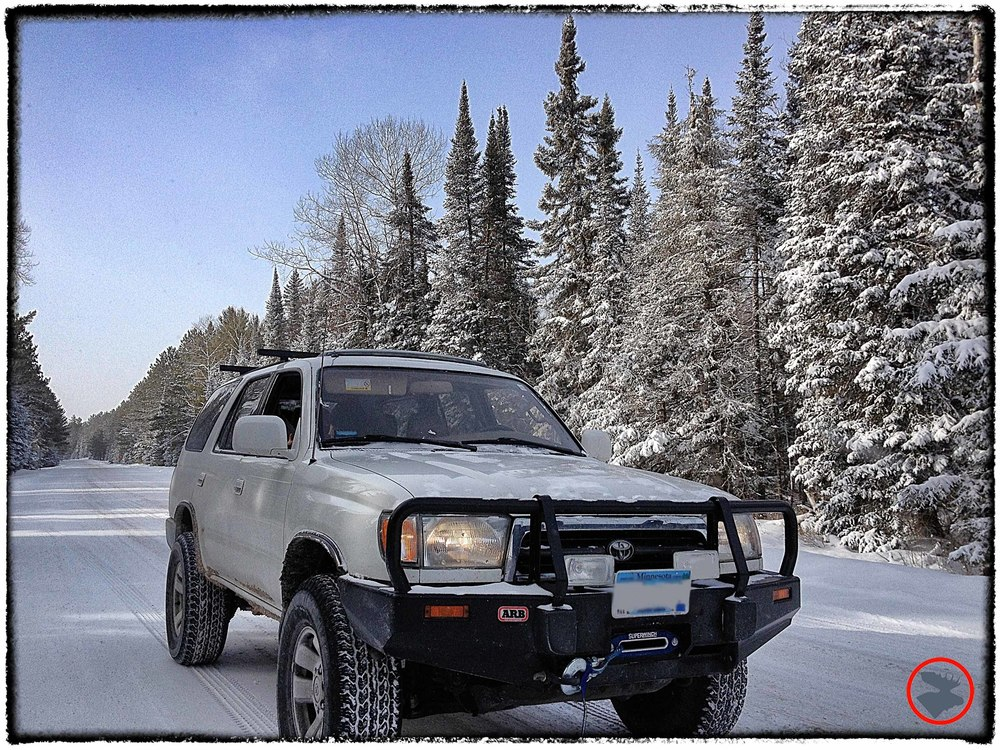 Our trail-tested Toyota 4Runner.